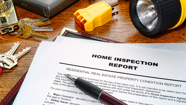 home inspection stock photo